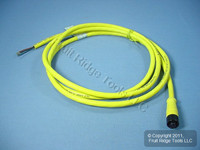 2m Woodhead Quick Disconnect Cord Pigtail 18/3 Female 803000B02M020