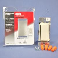 Pass & Seymour Light Almond Mural Preset Dimmer Switch Multi-Way LED Display 600W D600MLAV
