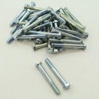 "New 44-Pack Metallics 3/8""-16 x 3"" Hex Head Bolts Zinc Plated JBHC26"