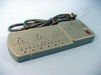 Leviton Gray MODULAR Surge Protector Power Strip Plus Cable Module 15A 5950-SCG