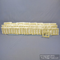 50 Leviton Decora Ivory GFCI & Receptacle Wallplate Outlet GFI Covers 80455-I