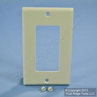 Leviton Gray Standard 1-Gang Decora GFI GFCI Cover Plastic Wallplate 80401-GY