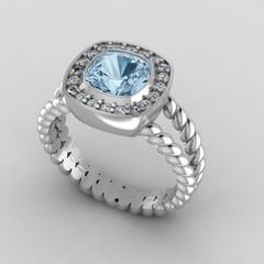 Custom Made Ring for Chris Huxley