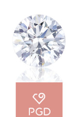 Pure Grown Diamond  .50 Carat SI2 H