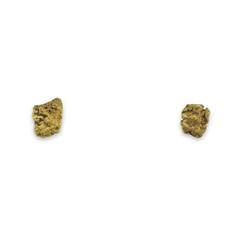 0.4 DWT ALASKA GOLD NUGGET EARRINGS