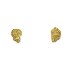 1.6 DWT ALASKA GOLD NUGGET EARRINGS
