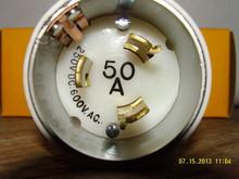 3765-C  50A 250VDC 50A 600VAC MALE CORD END {MARINCO}