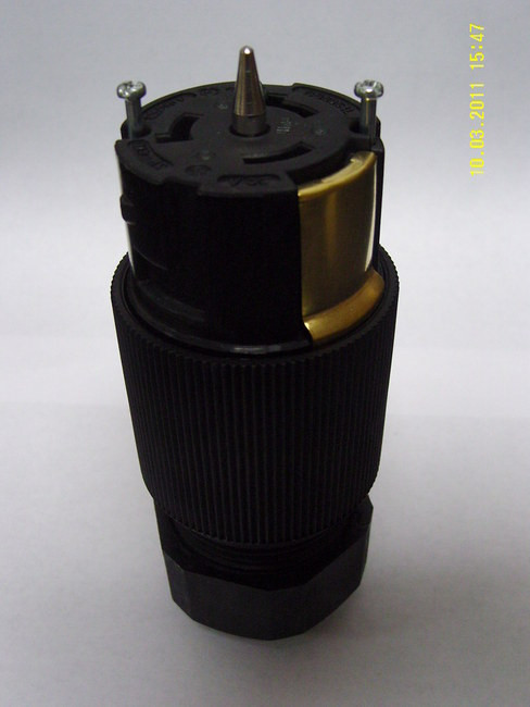 CS6364C HBL6364 M1 50A 125//250V FEMALE CONNECTOR {HUBBELL}