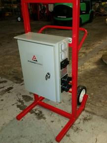 Power Distribution Cart - 3A20-2 (Three Phase,120/208V, 200A)