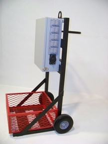 Power Distribution Cart - 3A10-2B (100A 120/208V)