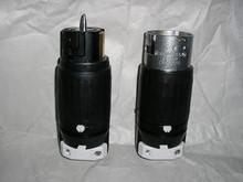 Hubbell HBL6364 & HBL6365  50A 125/250V Wiring Device Set