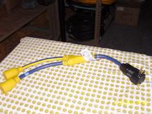 "1420GF 20A 125V GFCI ""Y"" Adapter NEMA 5-20"