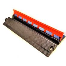 "EG1200-36 Elasco Guards 1 Channel 2"" Heavy Duty Cable Guard, Orange/Black"