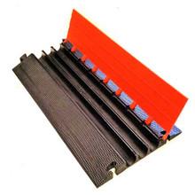 "EG3200-36 Elasco Guards 3 Channel 2"" Heavy Duty Cable Guard, Orange/Black"