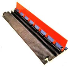 "EG2125-36 Elasco Guards 2 Channel 1-1/4"" Heavy Duty Cable Guard, Orange/Black"