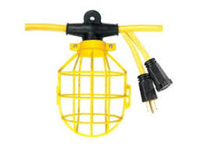 Voltec 08-00193 U-Ground Light Strings with Plastic Cage