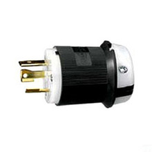 Hubbell HBL2621 30A 250V 2-Pole 3-Wire Locking Plug  L6-30P