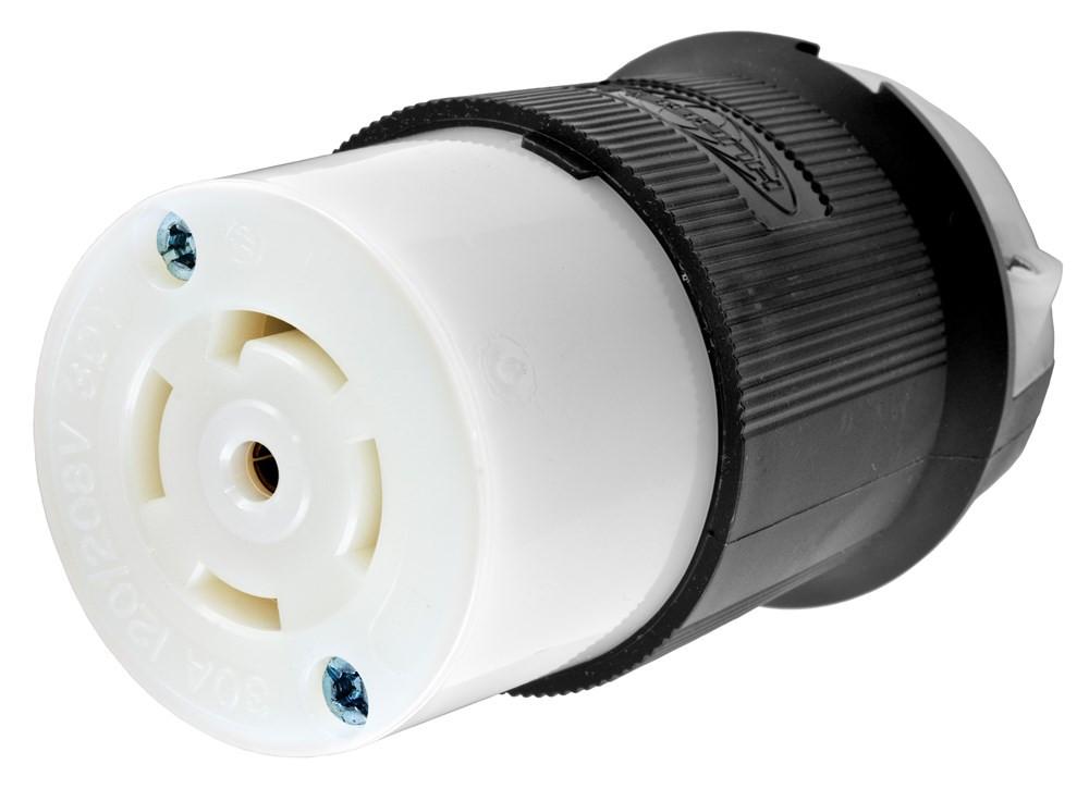 hubbell hbl2813 wiring device connector 120 208vac 30a l21 30r rh robsindustrial com