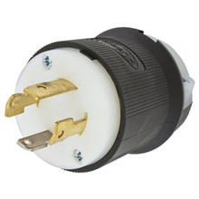 Hubbell HBL2711C 30A 125/250V Male Locking Plug L14-30