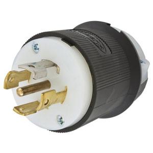 hubbell hbl2811 wiring device plug 120 208vac 30a l21 30r 4p 5w rh robsindustrial com
