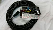 50FT 12/3 SJTW BLACK EDISON EXTENSION CORD D16624050