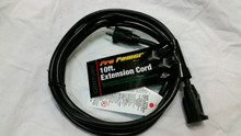10FT 12/3 SJTW BLACK EDISON EXTENSION CORD D16624010