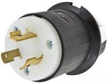 Hubbell HBL2341 20A 480V Male Plug 2-Pole 3-Wire