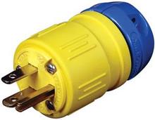 Ericson 1510-P Plug NEMA 5-15 Straight Blade 125V 15A Perma-Link