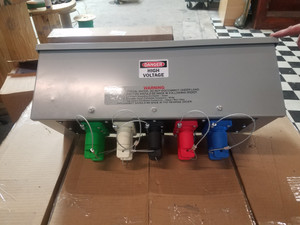 400-800 AMP SERIES 16 CAMLOCK GUTTER BOX