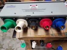 690 AMP SERIES 17 CAMLOCK GUTTER BOX
