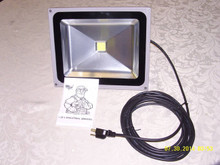 R-50/LED  50 WATT LED FLOOD LIGHT W/ 25' POWER CORD