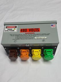 CAMLOCK GUTTER BOX - 400A 480v SERIES 16 CAMLOCK GUTTER BOX