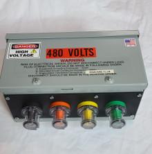 CAMLOCK GUTTER BOX - 150A 480v SERIES 15 CAMLOCK GUTTER BOX