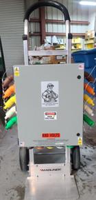 Camlock Power distribution Panel - 400 Amp 277/480 Volt Split Feedthrough