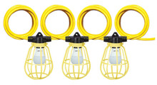 Voltec 08-00510 VOLTEC 8000 LUMEN LED LIGHT STRING WITH METAL CAGE