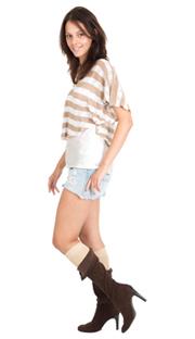 boot socks - vegas gold