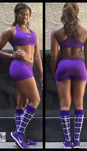 brittany noelle workout outfit idea