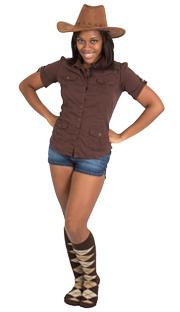 brown argyle socks