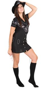 cowgirl black socks