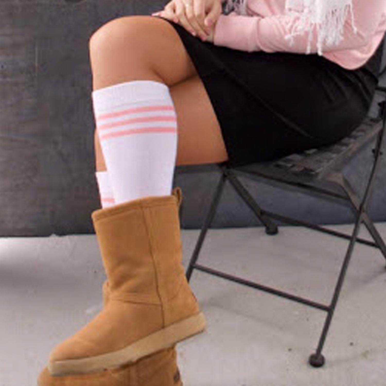mid calf boot socks