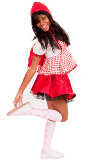 white light pink argyle knee socks