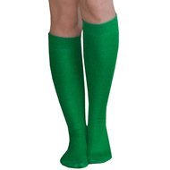 Thin Green Knee Highs