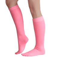 Dark pink knee high socks
