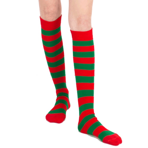Red/Green Socks
