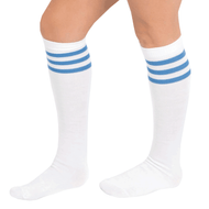 blue tube socks