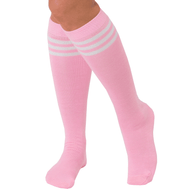 light pink tube socks