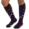 multi color polka dot socks