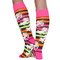 funky knee high socks