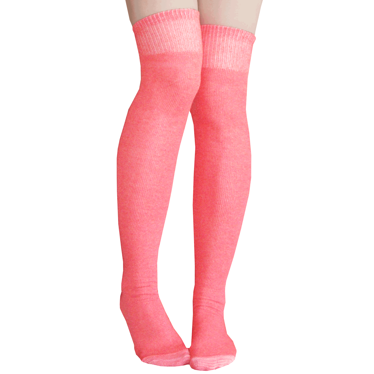 5079444bc44 coral colored thigh highs. See 1 more picture