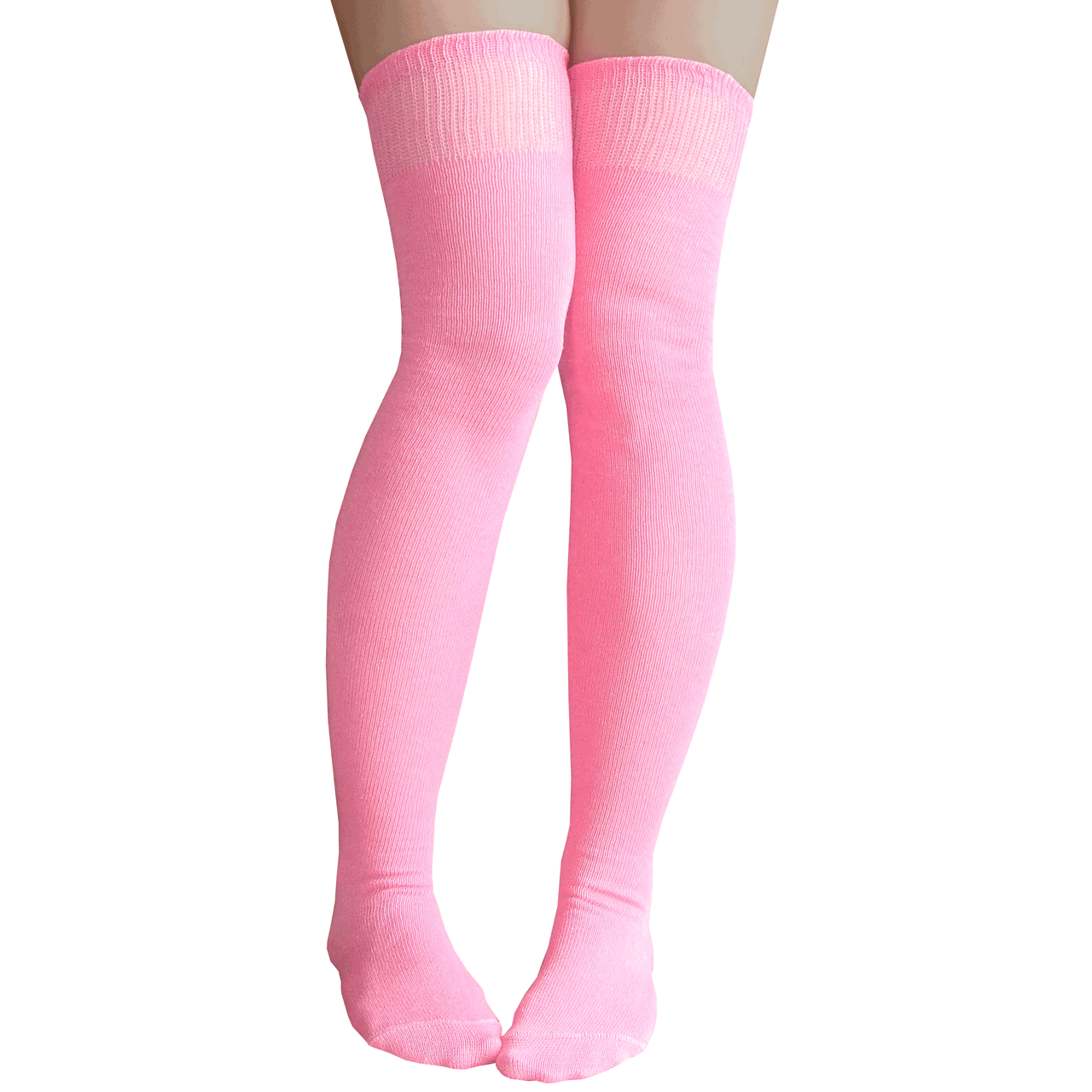 9f6d58b2ccce8 Baby Pink Thigh High Socks